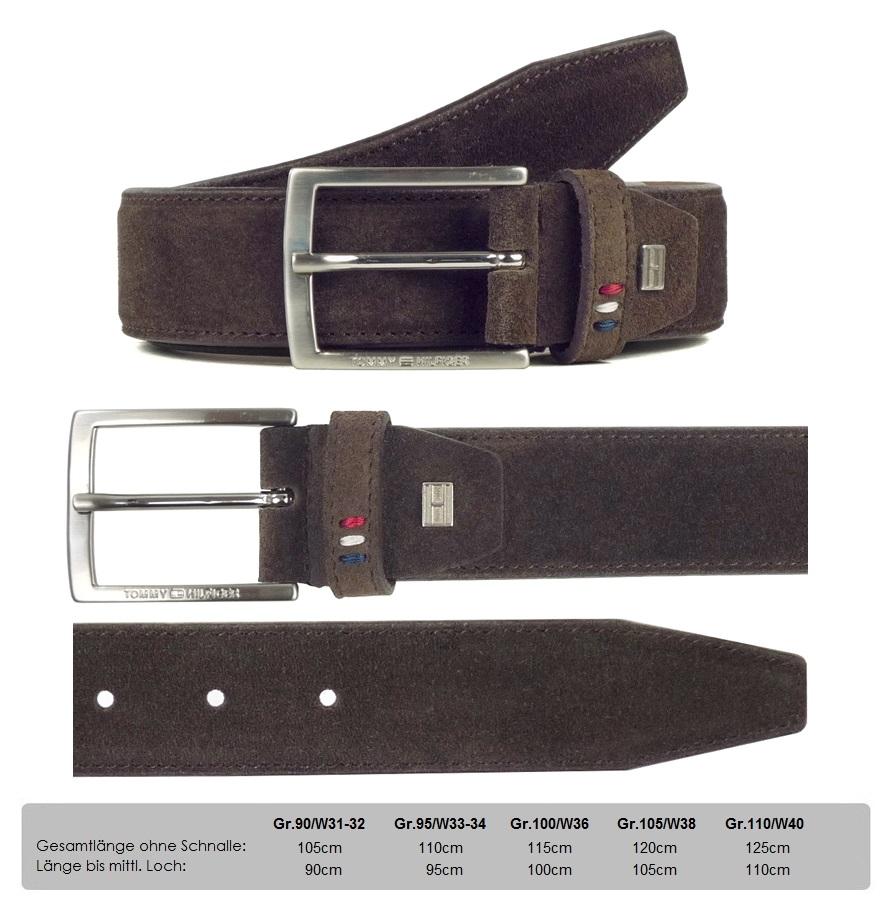 tommy hilfiger barney belt 90 95 100 105 leder herren. Black Bedroom Furniture Sets. Home Design Ideas